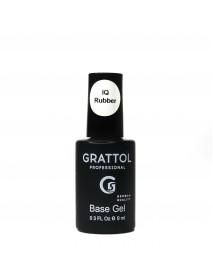 Grattol, База Каучуковая IQ Rubber Base Gel (9 мл.)